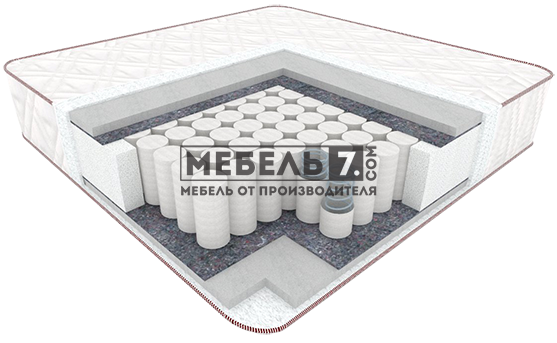 "Матрас ""Валенсия Light"" (ReflexFoam + Pocket Spring 320 + ReflexFoam  ) 17см."